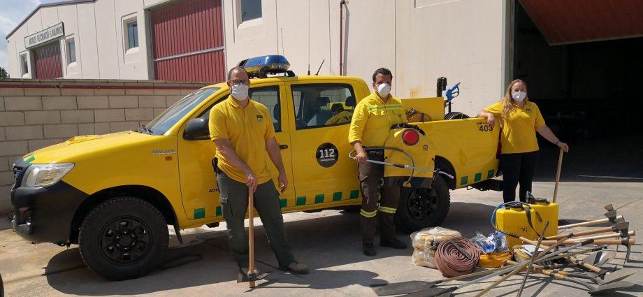 S'ha fet arribat a través del Secretariat juntament amb la resta de donacions d'altres ADF de Catalunya. Foto: SFADF